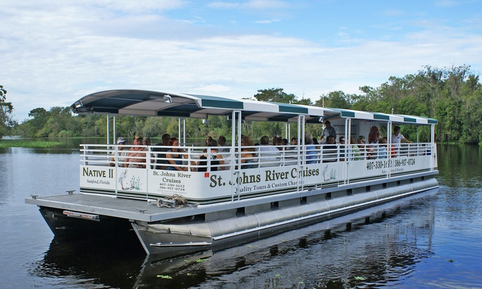 St. Johns River Cruises - Orange City: Two-Hour Narrated Ecological River Cruise for One, Two, or Four from St. Johns River Cruises (Up to 50% Off)