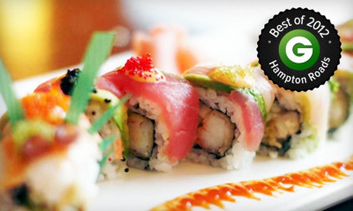 Soya Sushi Bar & Bistro - Northeast Virginia Beach: $20 for $40 Worth of Japanese Cuisine and Sushi at Soya Sushi Bar & Bistro