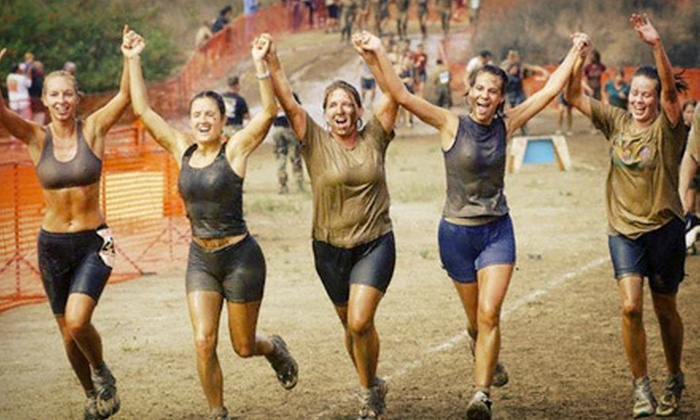 Sqwish Sqwash Challenges - Hortense: $57 for SEAL TOUGH Challenge Obstacle-Course Race Entry from Sqwish Sqwash Challenges ($115 Value)