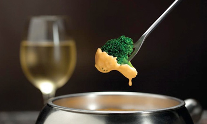 Melting Pot - Darien: Three-Course Fondue Dinner for Two or Four on Saturday or Sunday–Friday at Melting Pot (Up to 55% Off)
