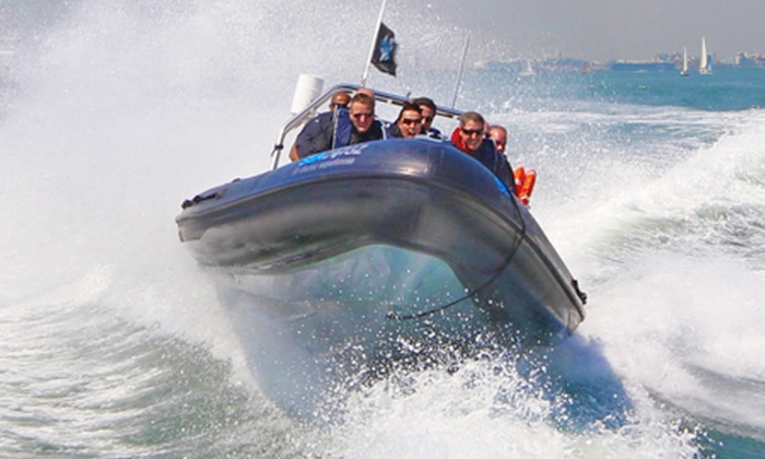 Seadogz - Banana Wharf: One-Hour RIB Thrill Ride Experience For One (£18) or Two (£36) With Seadogz (60% Off)