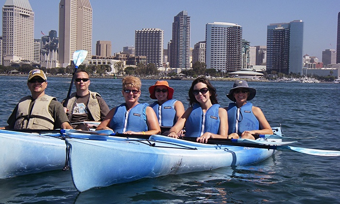 Family Kayak Adventure Center - Multiple Locations: $39 for a Three-Hour Sea Lion or Coronado Island Kayaking Tour for Two from Family Kayak Adventure Center