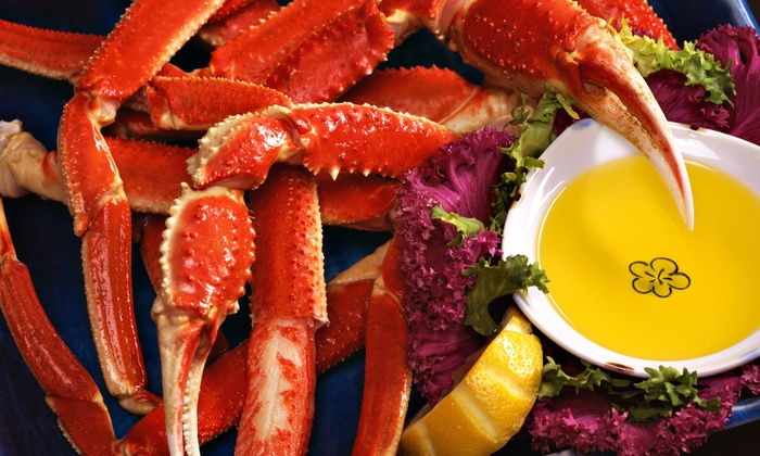 Lila's Seafood & Steaks - Hogan: Surf 'n' Turf at Lila's Seafood & Steaks (Up to 45% Off). Two Options Available.