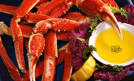Surf 'n' Turf at Lila's Seafood & Steaks (Up to 45% Off). Two Options Available.