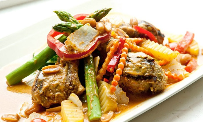 Stang of Siam - Mid-Town Belvedere: Thai Dinner for Two or Four at Stang of Siam (Up to 46% Off)