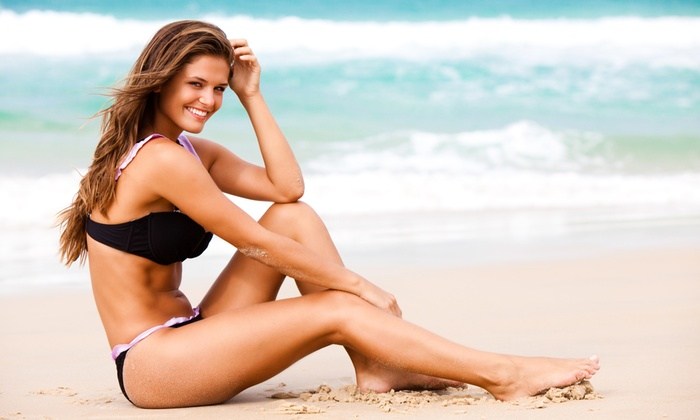 Glam and Glo - Orland Park: One or Three Organic Airbrush Tans at Glam and Glo (Up to 75% Off)