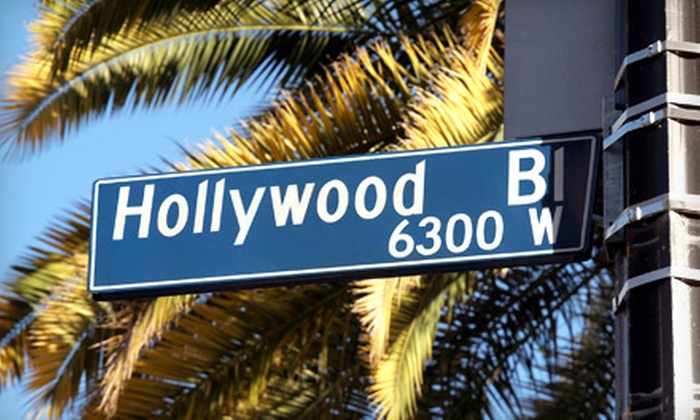 Hollywood Dream Tours - Hollywood: Two-Hour Hollywood Tour in Open-Air Van for One, Two, or Four at Hollywood Dream Tours (Up to 59% Off)