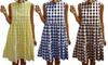 Ruffle Gingham Dress