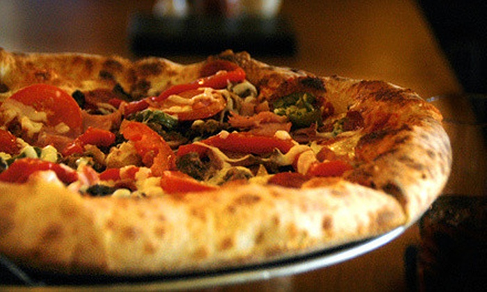 Gourmet Pizza and More - Augusta Street Area: $10 for $20 Worth of Pizza and Drinks at Gourmet Pizza and More