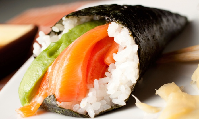 Asahi Japanese Restaurant - Eastside: Sushi and Japanese Cuisine for Two or Four at Asahi Japanese Restaurant (Half Off)