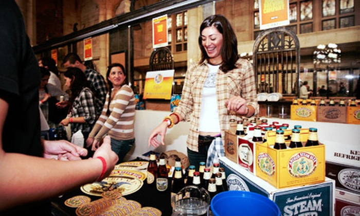 The Village Voice's Brooklyn Pour Craft Beer Festival - Brooklyn: Festival Visit at The Village Voice's Brooklyn Pour Craft Beer Festival on October 6 (51% Off). Two Options Available.