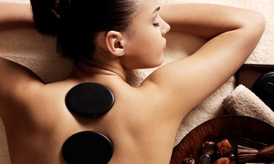 Definitions Hair and Beauty: Full-Body Hot Stone Massage with Optional Facial at Definitions Hair & Beauty (Up to 72% Off)