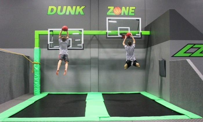 lz trampoline park jump 360 edmonton groupon. Black Bedroom Furniture Sets. Home Design Ideas