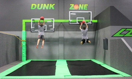 One Hour of Jump Time for Two or Four, or One Party Package for Up to Nine at LZ Trampoline Park (Up to 37% Off)
