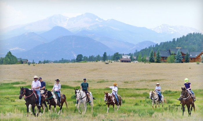 O'Dell's Horses - Estes Park: Two-Hour Horseback Ride for Two or Four at O'Dell's Horses (Up to 55% Off)