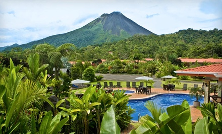 Groupon Deal: Three-, Four-, or Five-Night Stay at Volcano Lodge and Gardens in La Fortuna, Costa Rica