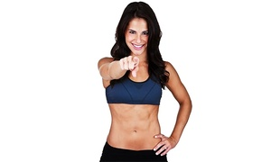 Ladies Workout Express: 12 or 10 Women's Fitness Classes at Ladies Workout Express (Up to 55% Off)