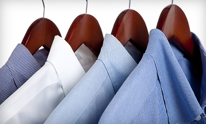 Texmain - Southcrest: Wedding-Dress Cleaning with Option for Preservation, or $25 for $50 Worth of Dry Cleaning and Shirt Laundry at Texmain