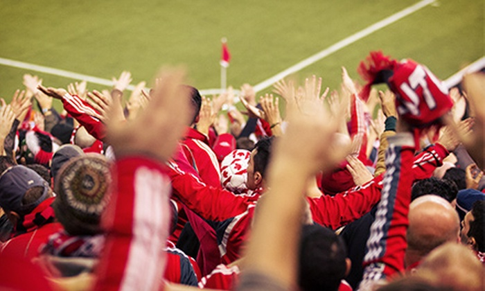 Toronto FC - BMO Field: Toronto FC Major League Soccer Match at BMO Field (Up to 42% Off). Three Games and Four Seating Options Available.