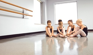 Encore Performing Arts: Four 30- or 60-Minute Children's Dance Lessons at Encore Performing Arts (67% Off)