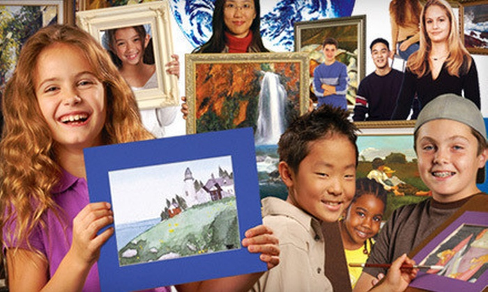 Mission: Renaissance - Multiple Locations: Introductory Art Classes for Kids, Teens, or Adults at Mission: Renaissance (Up to 63% Off)
