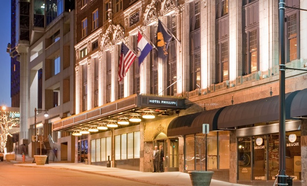 Hotel Phillips - Kansas City, MO: Stay at Hotel Phillips in Kansas City, MO, with Dates into October