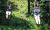 Dagaz Acres: $75 for a Guided Zipline Tour For Two People at Dagaz Acres ($140 Value)