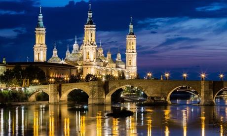 Zaragoza: habitación doble o twin para 2 personas con opción a desayuno en Vincci Zaragoza Zentro 4*