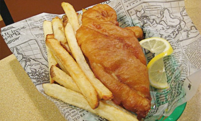 Cod Almighty Chippery - Westfield: $19 for Fish-and-Chips Meal for Two with Sides and Drinks at Cod Almighty Chippery ($31.80 Value)
