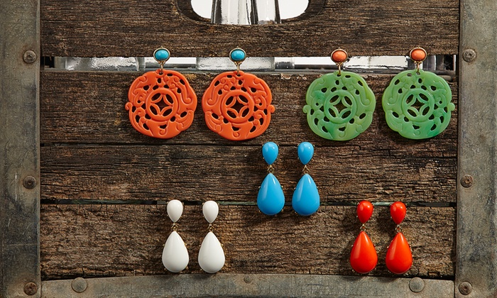 Kenneth Jay Lane: Kenneth Jay Lane Earrings from $29. Multiple Styles Available. Free Shipping and Returns.