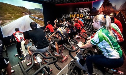 5- or 10-Class Pass for Virtual Ride Spinning at Energia Athletics (Up to 72% Off)