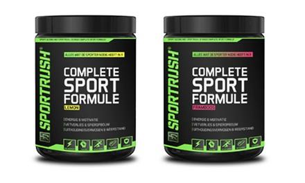 SportRush: lekker in je vel met een aan huis bezorgd pakket voedingssupplementen