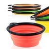Collapsible Pet Feeding Bowl Set (3- or 4-Pack)