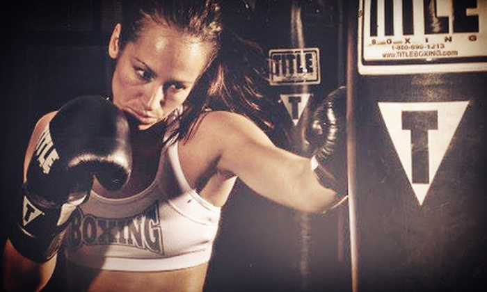 TITLE Boxing Club - Multiple Locations: $19 for Two Weeks of Unlimited Classes with Free Hand Wraps at TITLE Boxing Club ($134 Value)