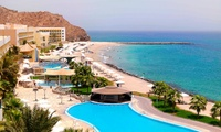 Fujairah: 1 or 2 Nights for Two with Breakfast/Suhoor or Half Board at 5* Radisson Blu Fujaiarah