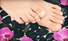 Crimper Hair Studio-A - Chili: Pedicure with Hot-Stone Foot and Leg Massage and Optional Manicure at Crimper Hair Studio (Up to 52% Off)