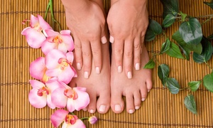 Berries Beauty Center: Relaxing Spa Treatment with French or Colour Mani or Pedi, Facial, Steam Bath or Scrub at Berries Beauty Center