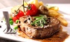 Rump Steak Meal For Two £18.95