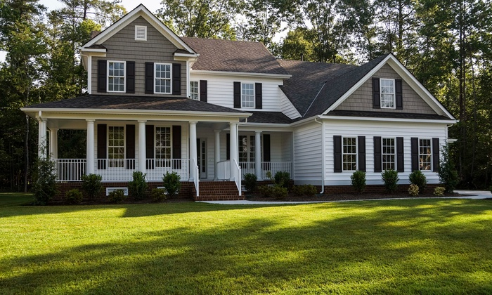 Crystal BLU Pressure Washing - Raleigh / Durham: Exterior Home Pressure Washing Up to 1,800 or 3,000 Square Feet From Crystal BLU Pressure Washing (Up to 52% Off)
