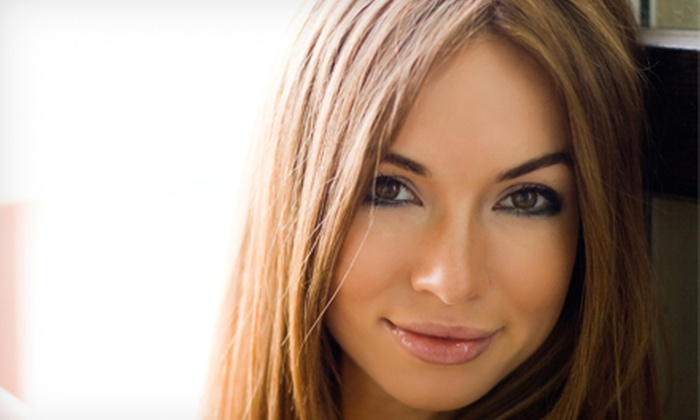 San Francisco Street Salon & Spa - Rocklin: Haircut with Optional Partial Highlights or Single-Process Color at San Francisco Street Salon & Spa (Up to 57% Off)