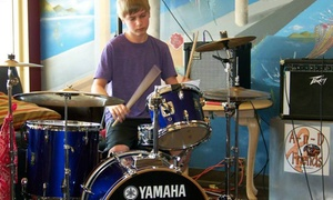 Music Lesson Den: A Month of Private Drum Lessons from Music Lesson Den - Boise (44% Off)