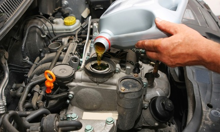One Oil Change or Oil Change with Tire Rotation and Mechanic Inspection at Caleb's Garage LLC (Up to 64% Off)