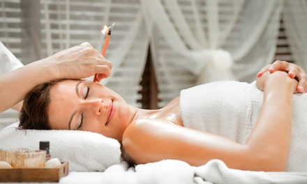 $22 for One Ear Candling Treatment at Beyond Beauty Salon N Spa ($50 Value)