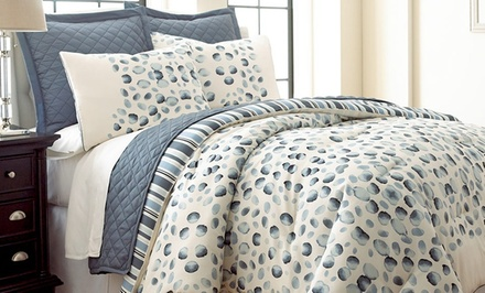 6-Piece Reversible Comforter and Coverlet Set. Multiple Styles Available. Free Returns.