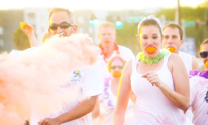The Flavor Run - Orlando: $29 for The Flavor Run 5k Entry Package for One on Saturday, April 26, 2014 ($45 Value)