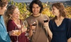 Voyager Executive Sedan Transportation: $142 for a Harvest Wine Tour Transportation for Up to Four from Voyager Executive Sedan Transportation ($284 Value)