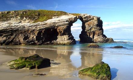 Galicia: hasta 7 noches en la playa de las catedrales para 4 o 6 personas en Apartamentos Barreiros 3000