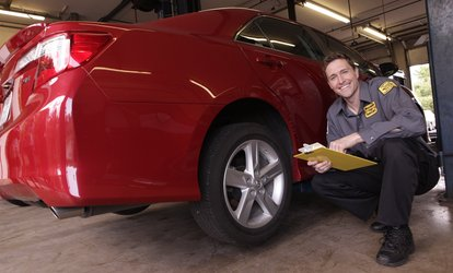 image for Four Wheel Alignment with Front Wiper Blades at Precision Tune Auto Care (59% Off)