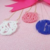 Custom Acrylic Monogram Necklaces