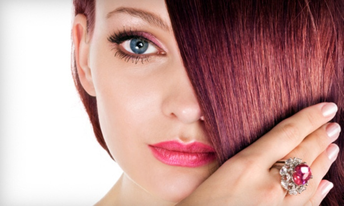 Amici Salon & Spa - Westville: $49 for a Haircut, Blowout, Pedicure, and Moroccanoil Conditioning at Amici Salon & Spa in Caldwell (Up to $103 Value)